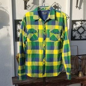 Fox Motorsports Flannel Shirt